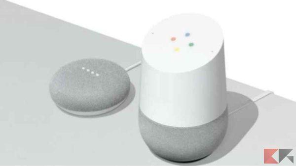 Assistente vocale Smart Home - Google Home Google Home Mini