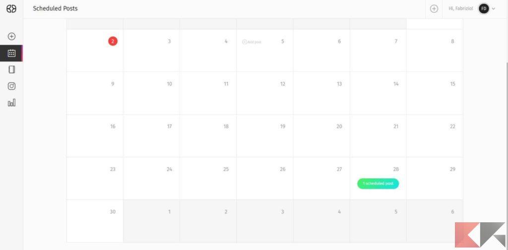 iku social schedules