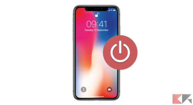 impedire spegnimento iphone