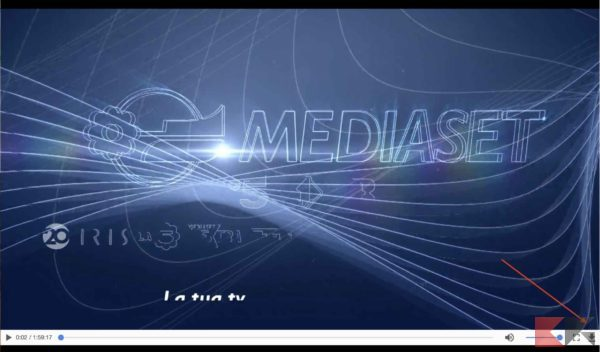 screen scaricare video mediaset