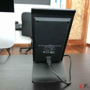 XTORM XW203: lo stand di ricarica wireless elegante e intelligente