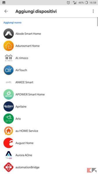 Dispositivi compatibili Google Home