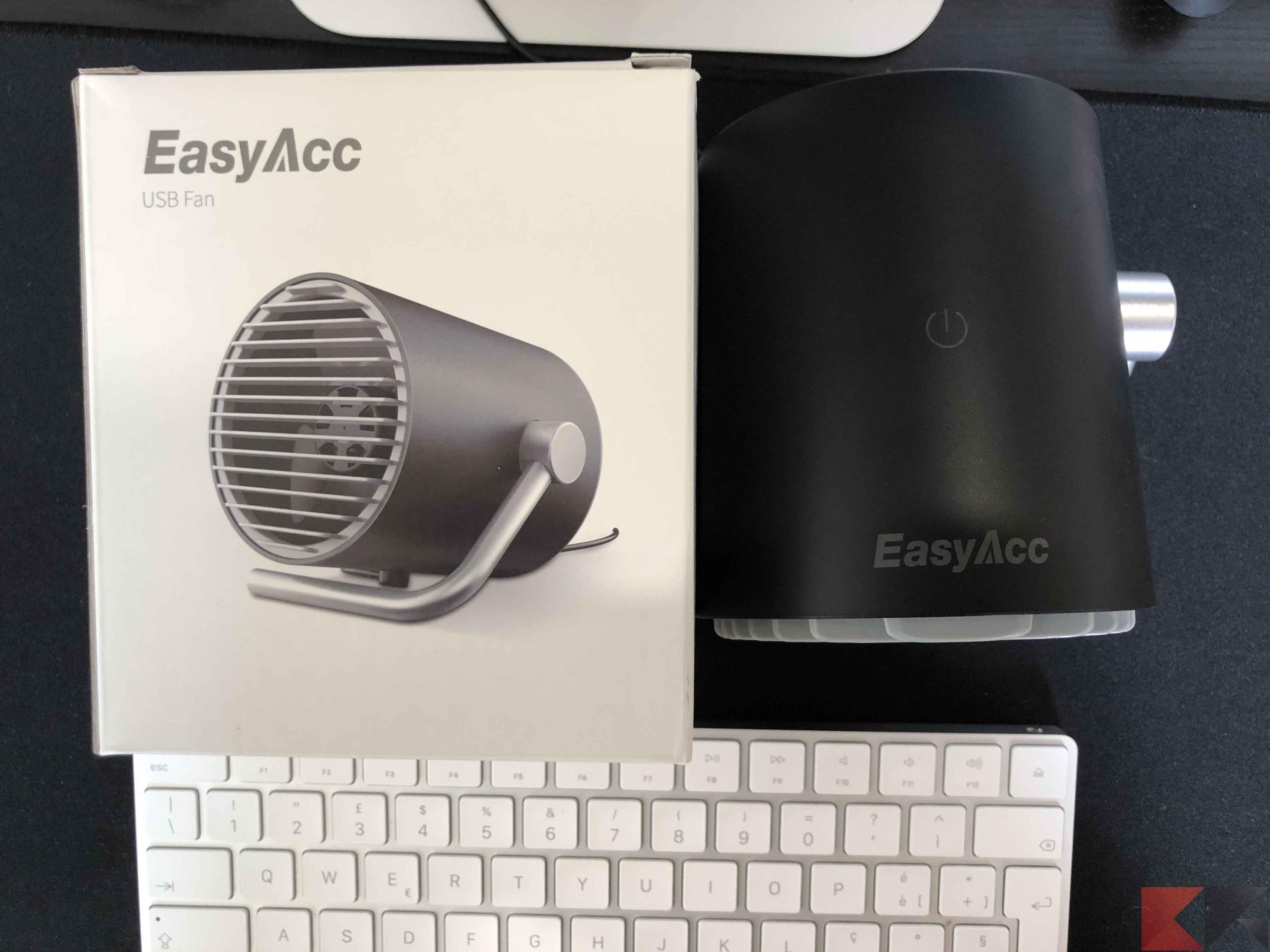 EasyAcc Mini USB Ventilatore