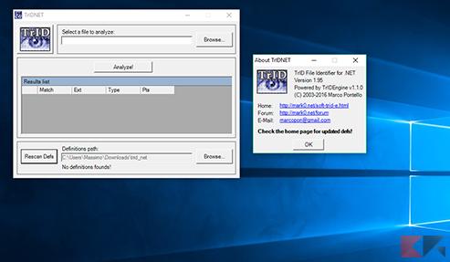TrIDNet File Identifier
