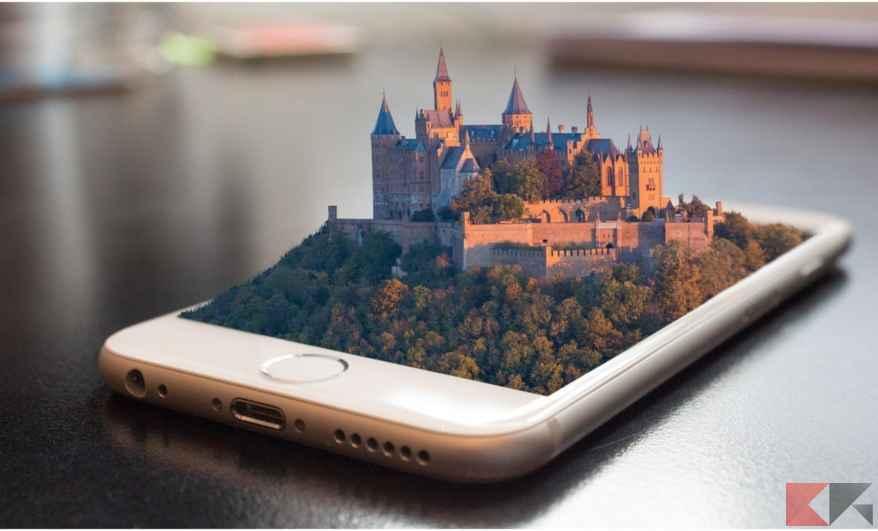 arkit realtà aumentata su iPhone iPad