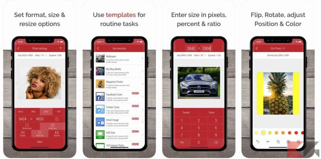 migliori app per rimpicciolire foto