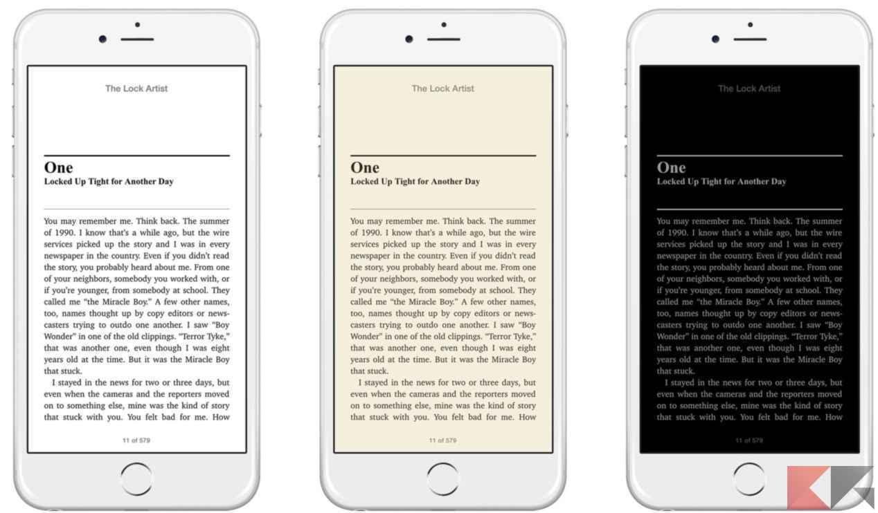 ibooks themes
