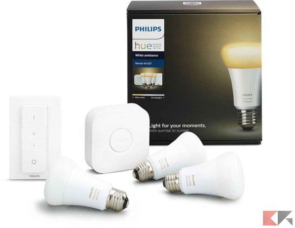 illuminazione smart domotica e casa intelligente
