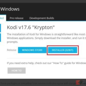 kodi download windows