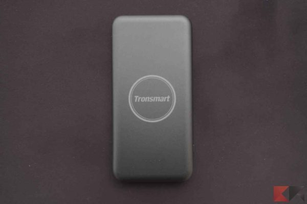 Tronsmart AirAmp Power Bank ricarica wireless