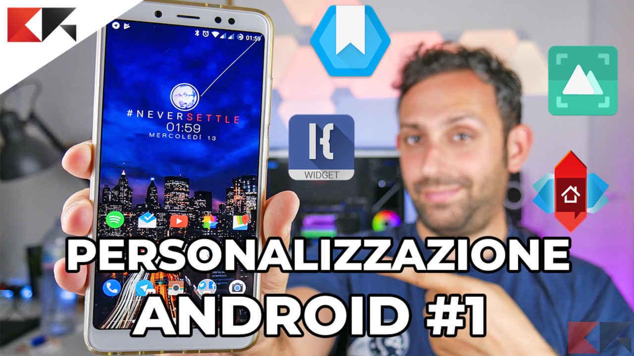 Personalizzazione Android