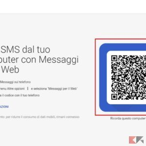 messaggi android pc
