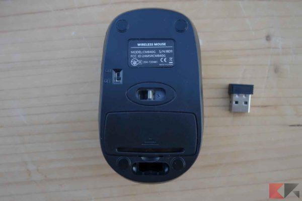 Tastiera e Mouse Wireless TopElek