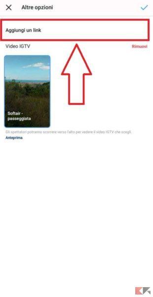 Come condividere video IGTV nelle storie Instagram