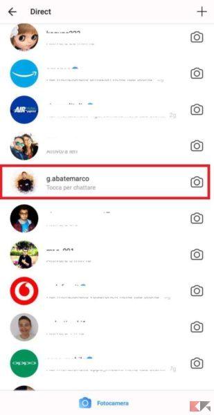 Come fare videochiamate su Instagram