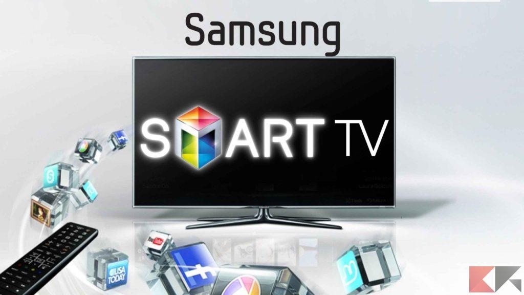 resettare smart tv samsung copertina