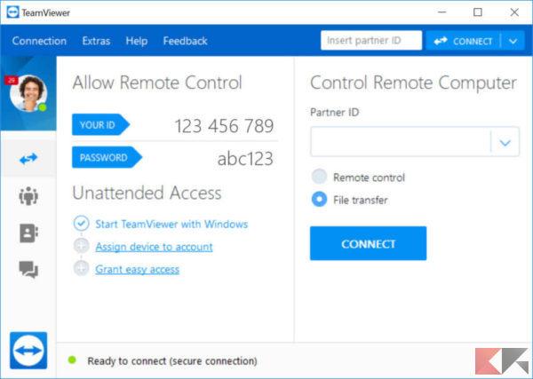 TeamViewer - come controllare il PC da smartphone