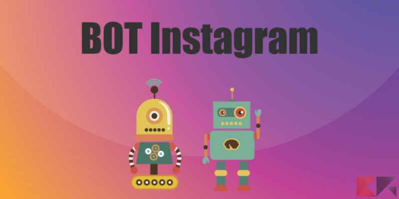 Bot per mettere like su Instagram