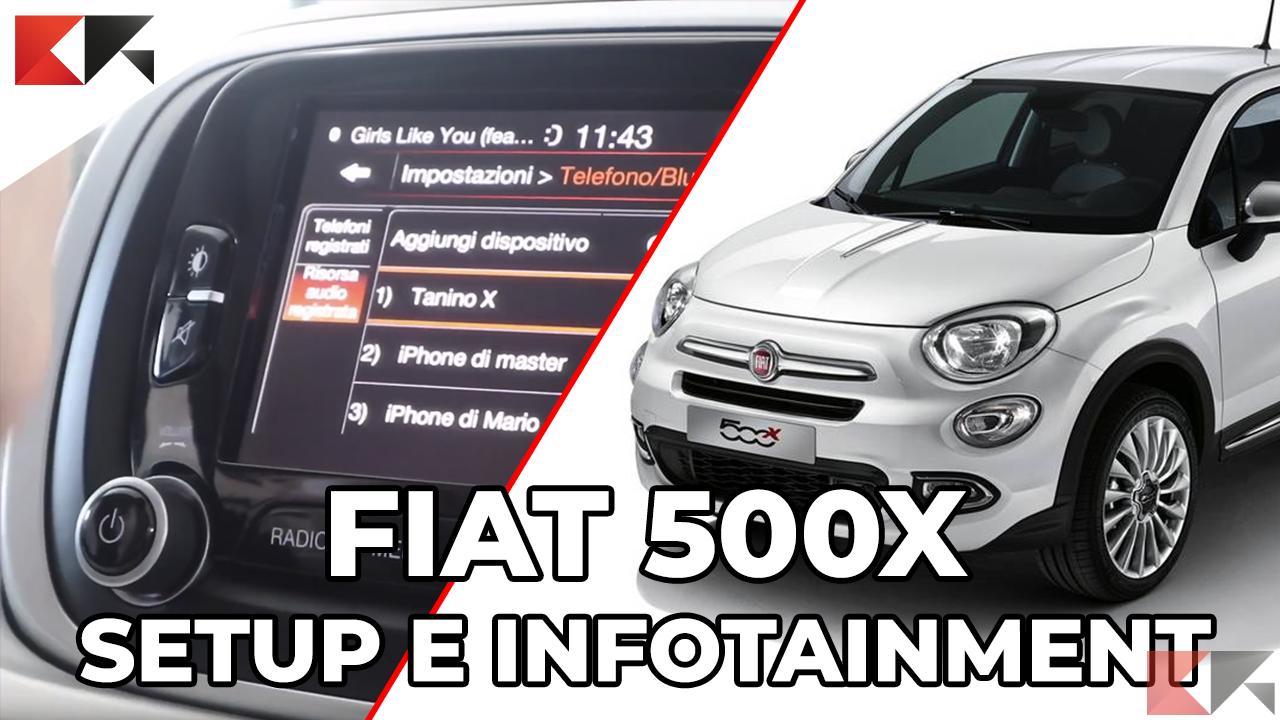 CR OnBoard FIAT 500X