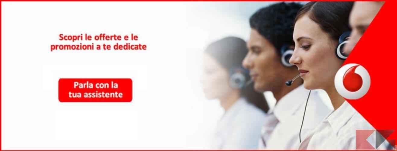 Come contattare Vodafone