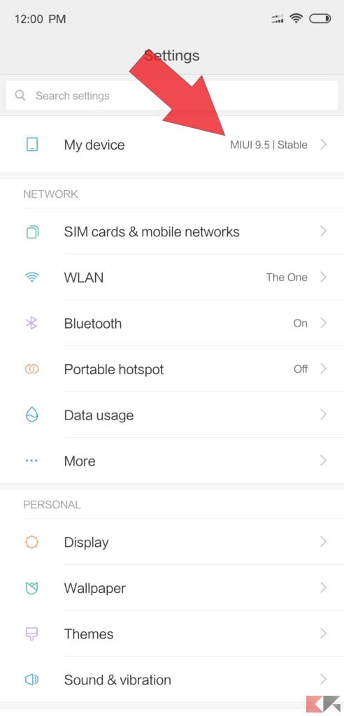 Sblocco bootloader Xiaomi Smartphone 1