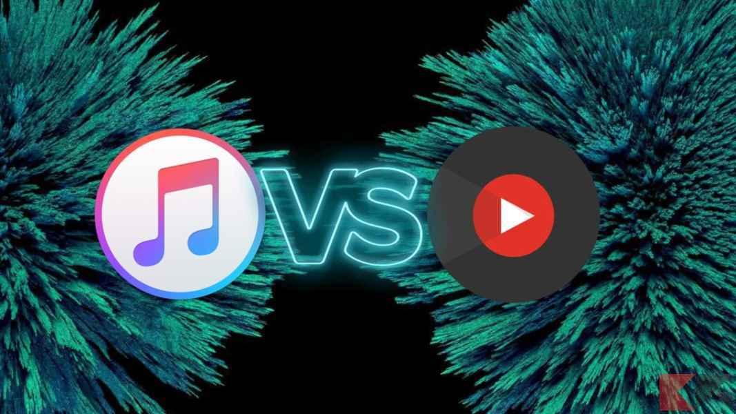 Youtube music vs apple music