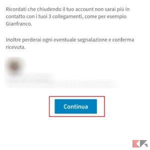account linkedin app 3