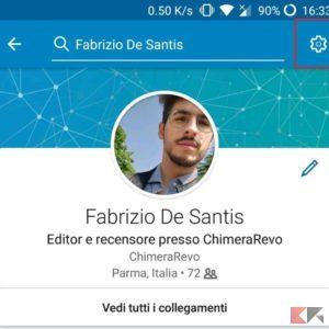 account linkedin app