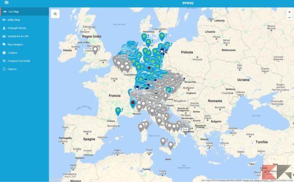 app e siti per colonnine elettriche