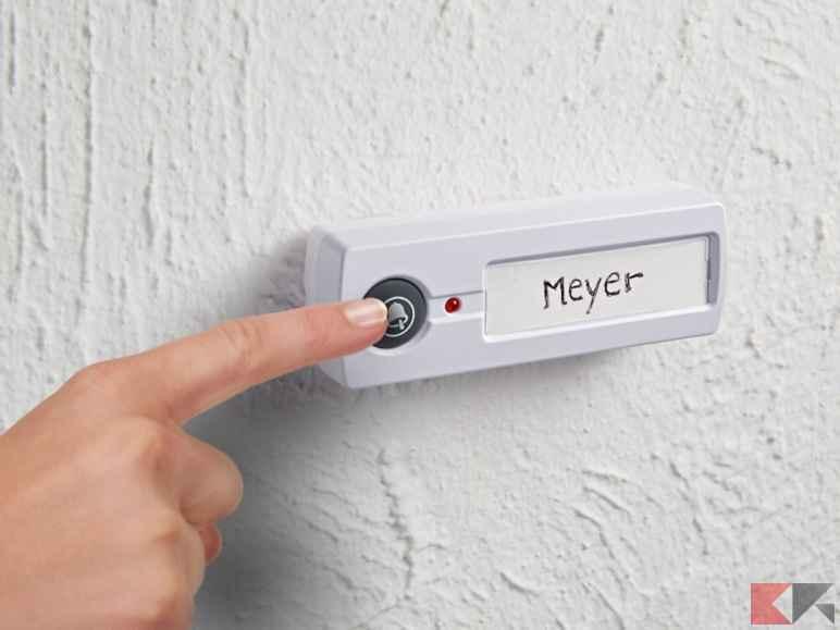 Campanello senza fili wireless i migliori da comprare - Campanello casa senza fili ...