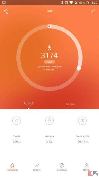 smartband Mpow - fitness tracker