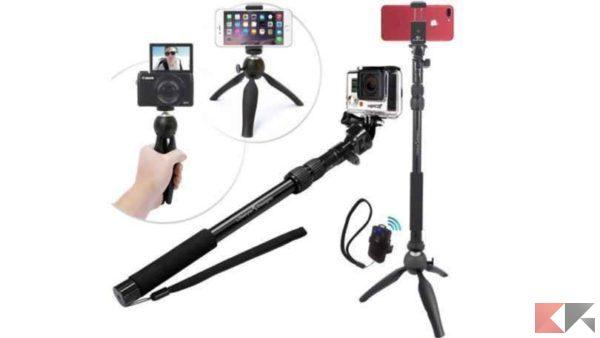 Selfie stick: i migliori da comprare