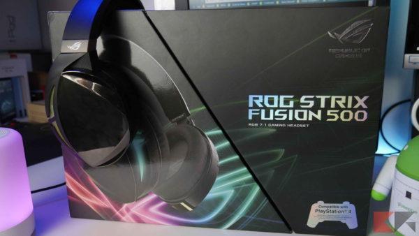 ASUS ROG Strix Fusion 500: come farvi invidiare dai vostri a