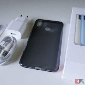 Xiaomi Mi A2 confezione unboxing