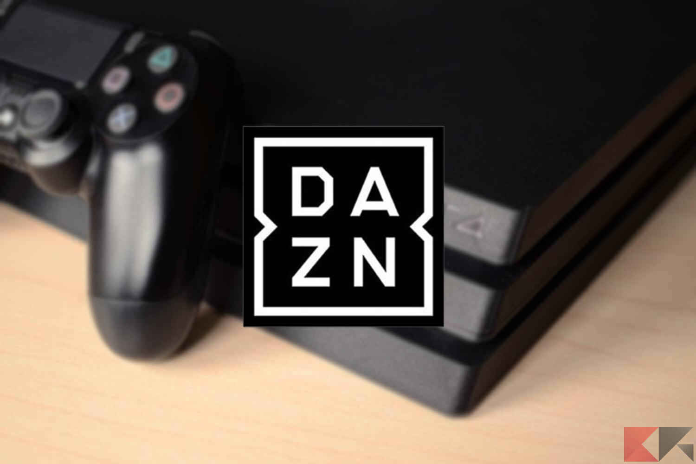Come guardare DAZN su Playstation 4