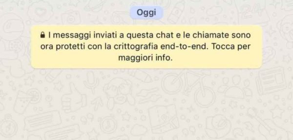 come spiare whatsapp crittografia end-to-end