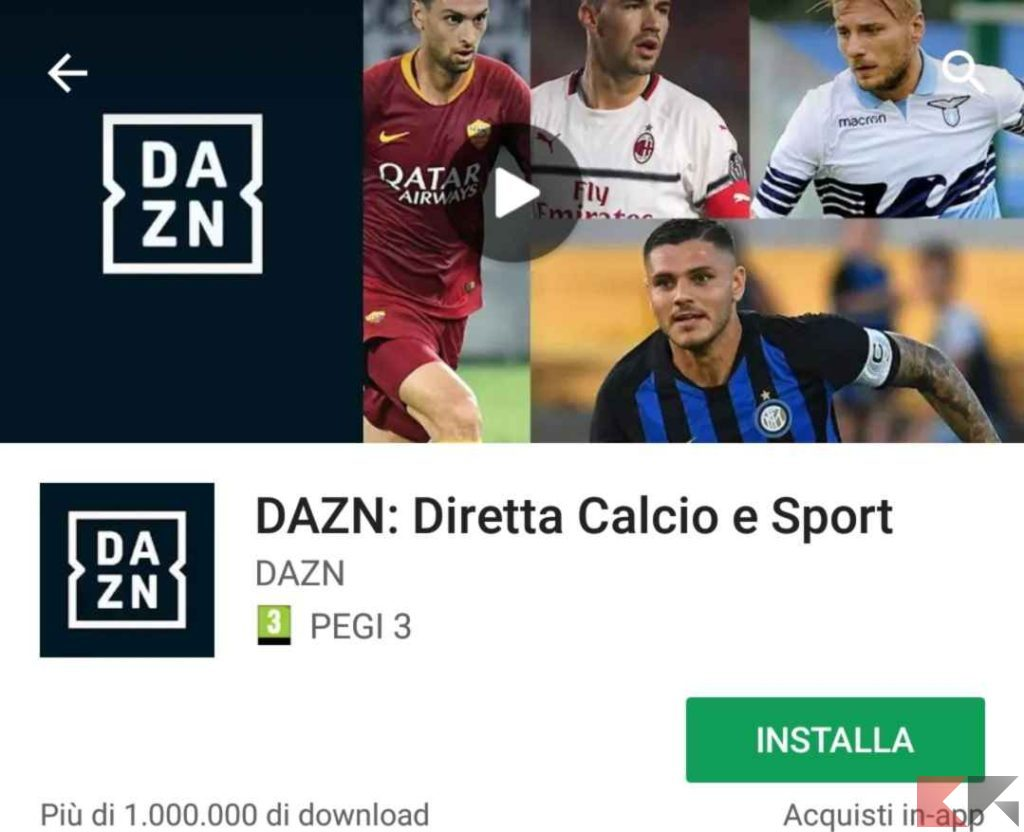 dazn android