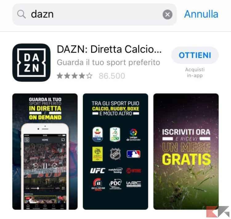 dazn iphone ipad