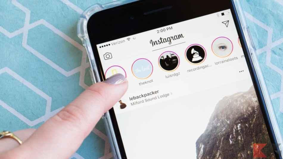 instagram non carica video e storie