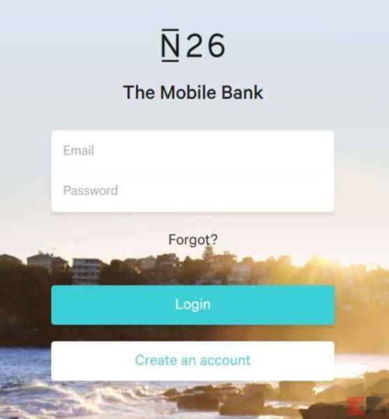 n26 home banking