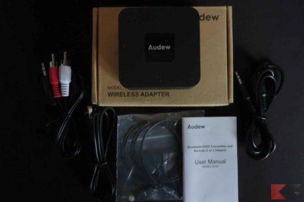 Ricevitore Bluetooth Audew