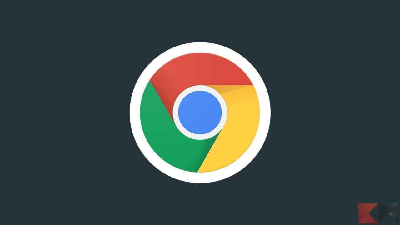 tema scuro di Google Chrome 1