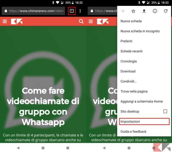 tema scuro di Google Chrome 4