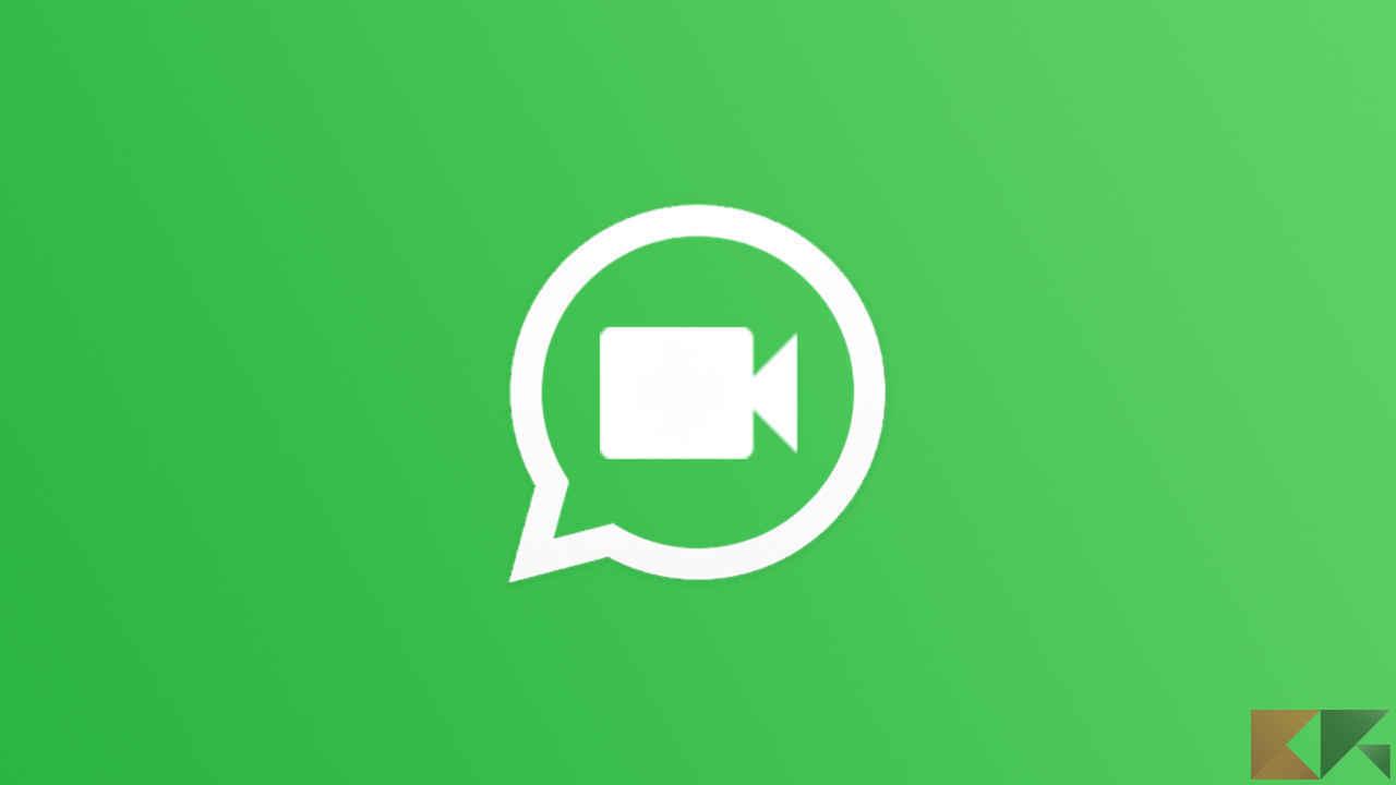 videochiamate di gruppo con whatsapp