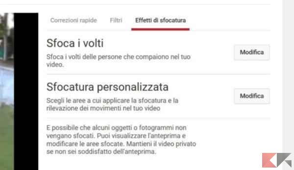 Come offuscare i volti nei video