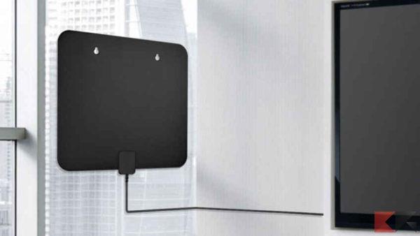 Come collegare una TV all'antenna senza cavo