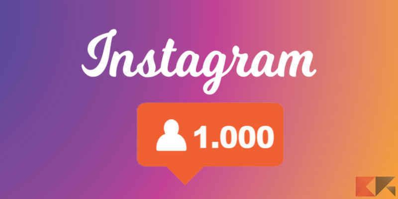 Come eliminare follower Instagram