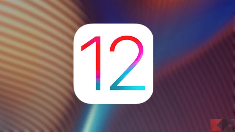 Come scaricare ed installare iOS 12