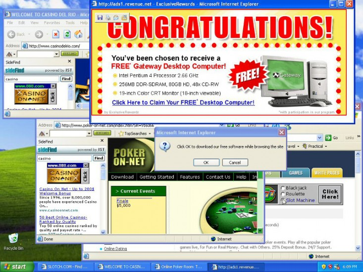 adware popup