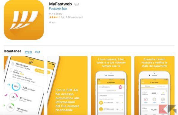 app fastweb